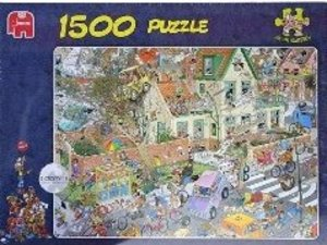 Jumbo Spiele 01498 - Jan van Haasteren: Der Sturm, 1500 Teile