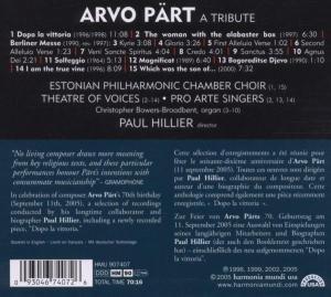 Arvo Pärt-A Tribute