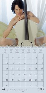 music on a journey (Wall Calendar 2015 300 × 300 mm Square)