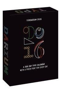 Typodarium 2016: The Daily Dose of Typography