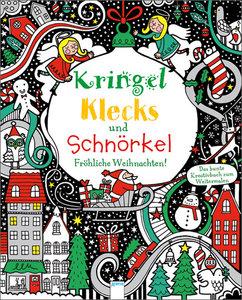Kringel, Klecks und Schnörkel - Fröhliche Weihnachten!