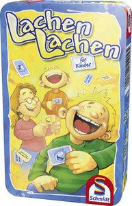 Schmidt Spiele 51209 - Lachen, Lachen für Kinder, Metalldose