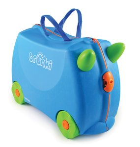 Knorrtoys 10107 - Trunki Kinderkoffer Terrance, blau, Reisekoffe
