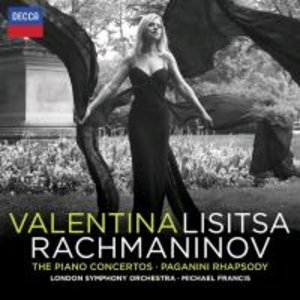 Rachmaninoff Klavierkonzerte-Paganini Rhapsody