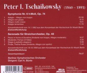 Sinfonie 6/Serenade für Streichorchester
