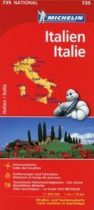 Nationalkarte Italien 1 : 1 000 000