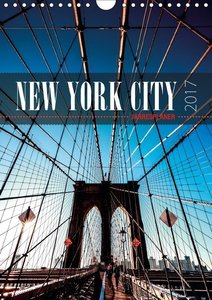 New York City Jahresplaner 2017 (Wandkalender 2017 DIN A4 hoch)
