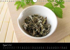 Heilsame Teekräuter (Wandkalender 2016 DIN A4 quer)