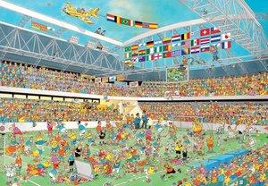 Fußballmeisterschaft. 3000 Teile