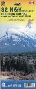 Canadian Rockies 1 : 250 000