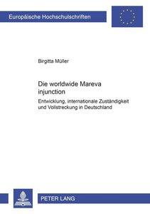 Die worldwide Mareva injunction