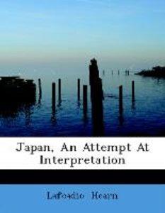 Japan, An Attempt At Interpretation