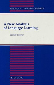 A New Analysis of Language Learning