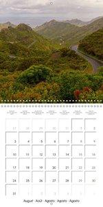 Volcanic Island Tenerife (Wall Calendar 2015 300 × 300 mm Square