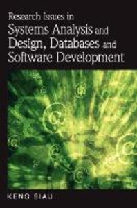 Research Issues in Systems Analysis and Design, Databases and So