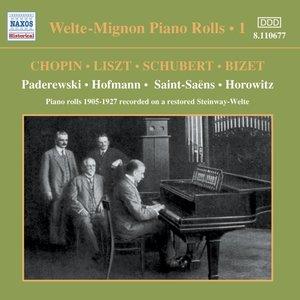 Welte-Mignon Piano Rolls Vol.1