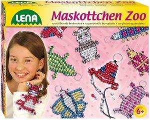 Simm 42022 - Lena: Maskottchen Zoo, Perlenset, groß