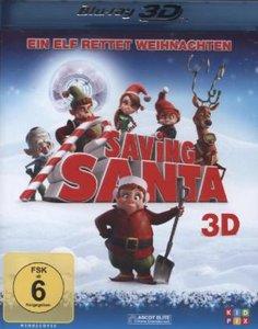 Saving Santa-Ein Elf rettet Weihnachten-3D Blu