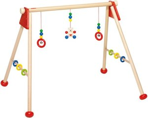 Goki 763770 - Baby-Fit Bär, unmontiert, Greif-und Spieltrainer