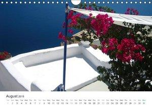 Hellas - a sea of colors / UK-Version (Wall Calendar 2015 DIN A4