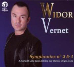 Sämtliche Orgelwerke Vol.2: Sinfonien 2 Und 3