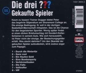 Die drei ??? 055. Gekaufte Spieler. (drei Fragezeichen). CD