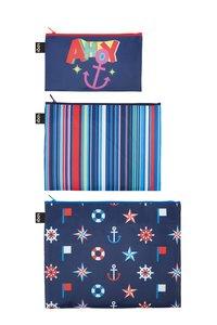 NAUTICAL Ahoy - Stripes - Classic Zip Pockets