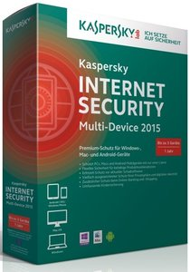Kaspersky Internet Security 2015 Multi Device (3 Geräte/1 Jahr)