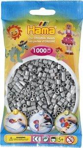 Hama 207-17 - Perlen grau, 1000 Stück