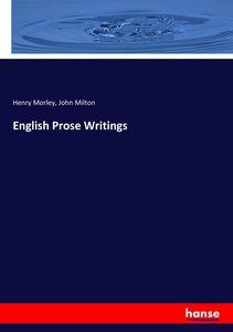 English Prose Writings