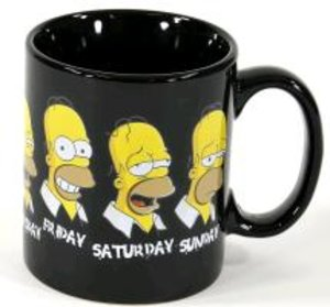 """The Simpsons Tasse """"Daily Homer"""""""