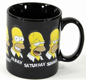 "The Simpsons Tasse ""Daily Homer"""