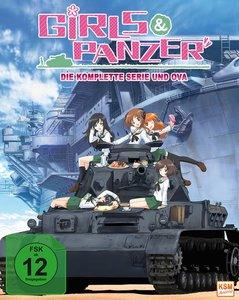 Girls und Panzer - im Sammelschuber - Episode 01-04