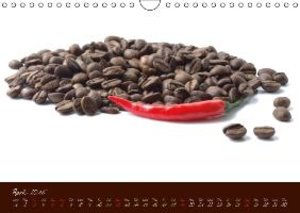 Coffee Consumption Calendar (Wall Calendar 2015 DIN A4 Landscape
