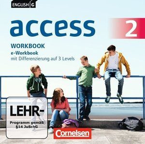 English G Access 02: 6. Schuljahr. e-Workbook auf CD-ROM