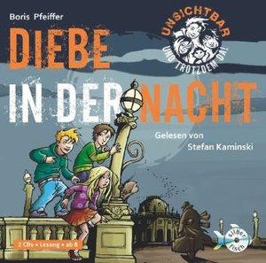 B.Pfeiffer: Unsichtbar U.Trotzdem Da-Diebe..Bd.1