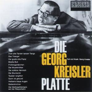 Die Georg-Kreisler-Platte. CD