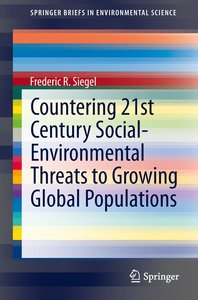 Countering 21st Century Social-Environmental Threats To Growing