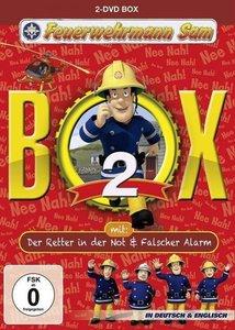 """Feuerwehrmann Sam - Box 2 (inkl. """"Der Retter in der Not"""" & """"Fals"""