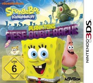 Spongebob Schwammkopf: Planktons fiese Robo-Rache. PlayStation D