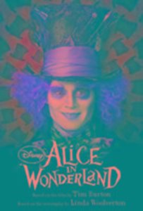 Disney Alice in Wonderland (Live Action) Book of the Film