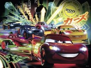 Cars Neon. Puzzle 100 Teile XXL