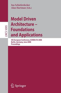 Model-Drivern Architecture - Foundations and Applications