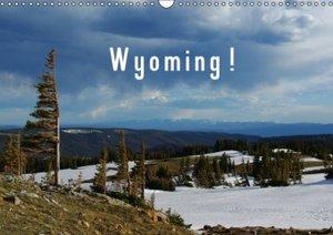 Wyoming! / UK-Version (Wall Calendar 2015 DIN A3 Landscape)