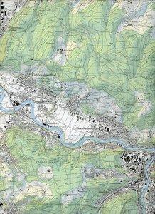 Swisstopo 1 : 25 000 Baden