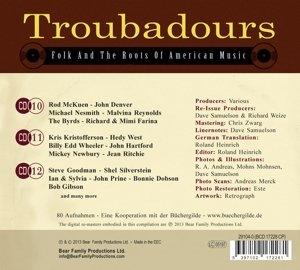 Troubadours-Part2 Folk And The Roots Of American