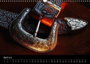 Western Art (Wandkalender 2016 DIN A3 quer)
