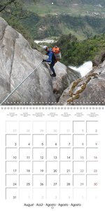 Canyoning Adventure (Wall Calendar 2015 300 × 300 mm Square)