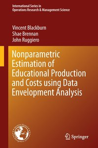 Nonparametric Estimation of Educational Production and Costs usi