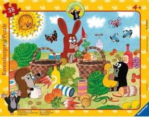 Ravensburger 06647 - Der kleine Maulwurf beim Picknick, Rahmenpu